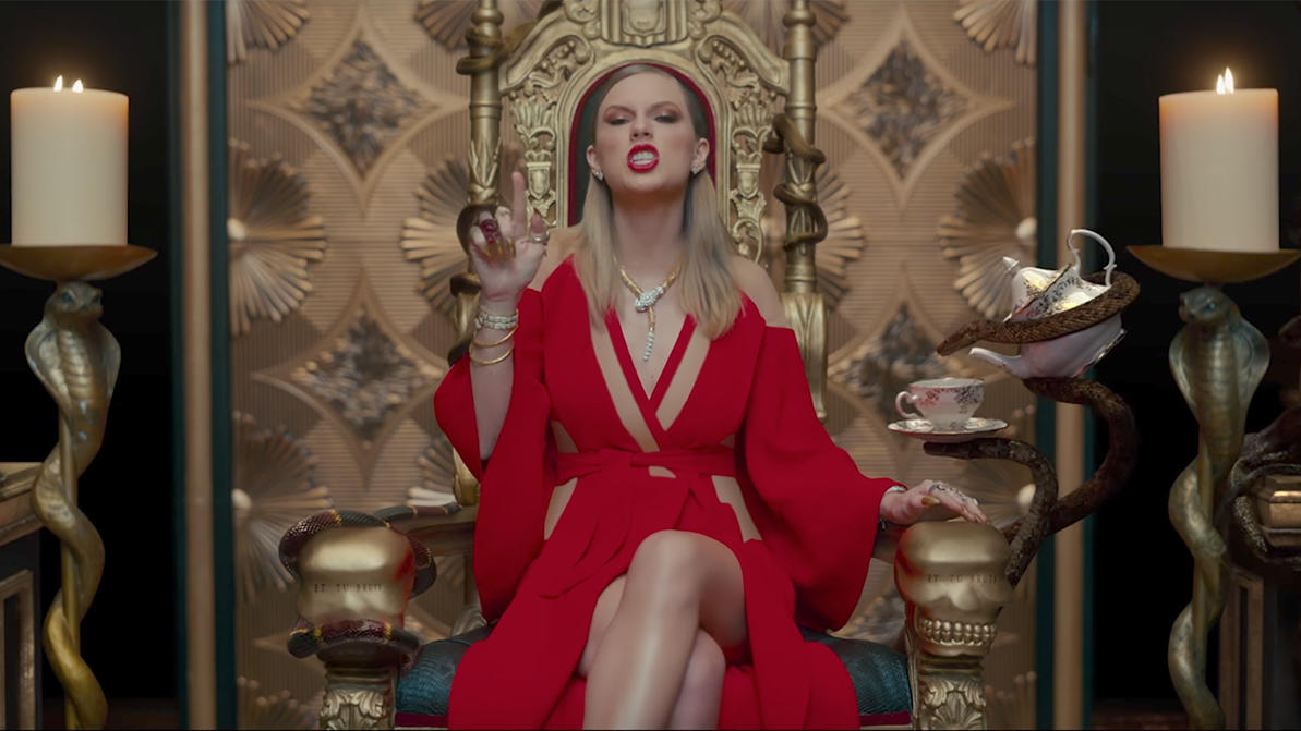 Taylor Swift: Premiere ihres Videos zu 'Look what you made me do'