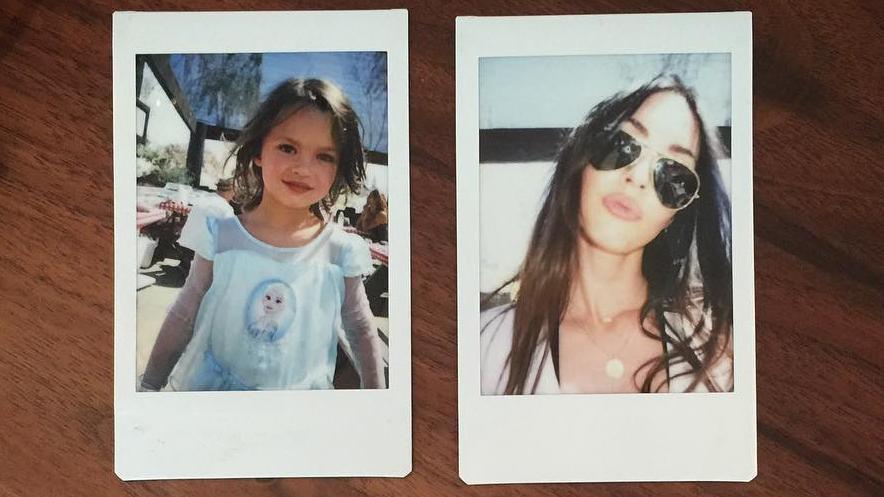 Megan Fox\' Sohn Noah: Niemals ohne sein Eisköniginnen-Kostüm