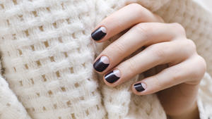 Negative Space Nails sind DER Trend