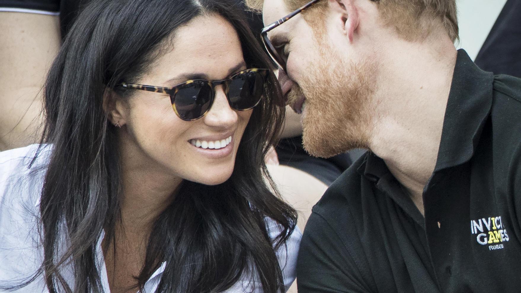 Meghan Markle und Prinz Harry: Steht der Hochzeitstermin etwa schon ...