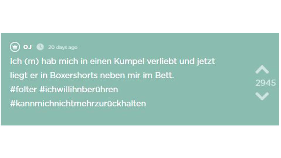 Liebesgeschichte auf Jodel: Frankfurter hat sich in Kumpel