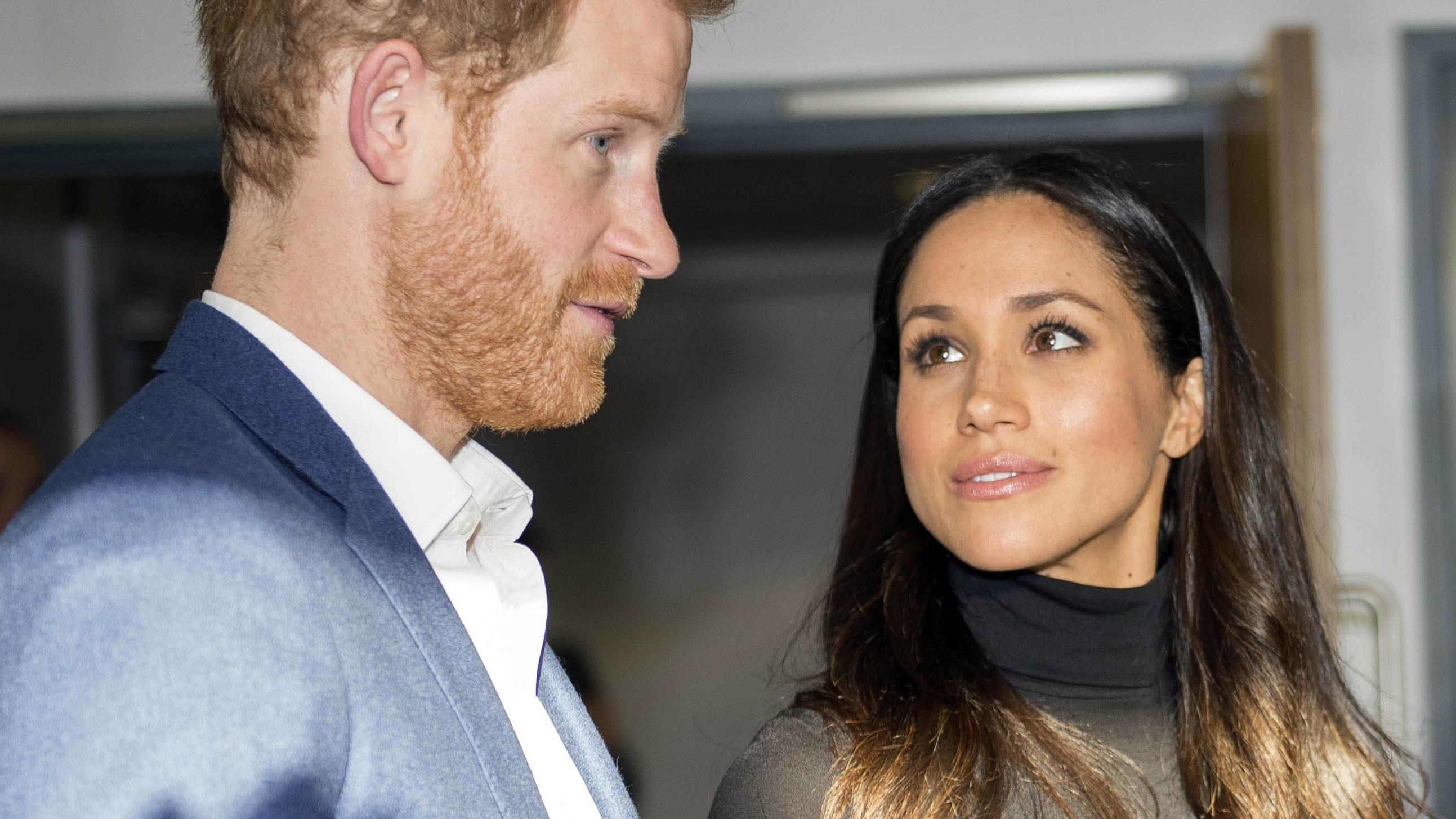 Vor Der Hochzeit Mit Prinz Harry Meghan Markle Muss Anti Geisel