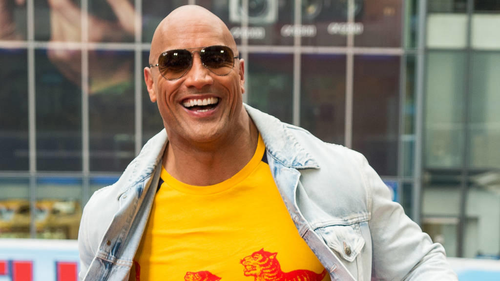 dwayne johnson wird wieder vater das beste. Black Bedroom Furniture Sets. Home Design Ideas