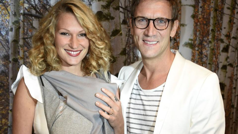 Peer Kusmagk und Freundin Janni Hönscheid mit Sohn Emil-Ocean bei der 10 Jahre TK Maxx Deutschland Party im TK Maxx Berlin Kant-Center. Berlin, 18.10.2017 *** Peer Kusmagk and Girlfriend Janni Hönscheid mit Sohn Emil-Ocean