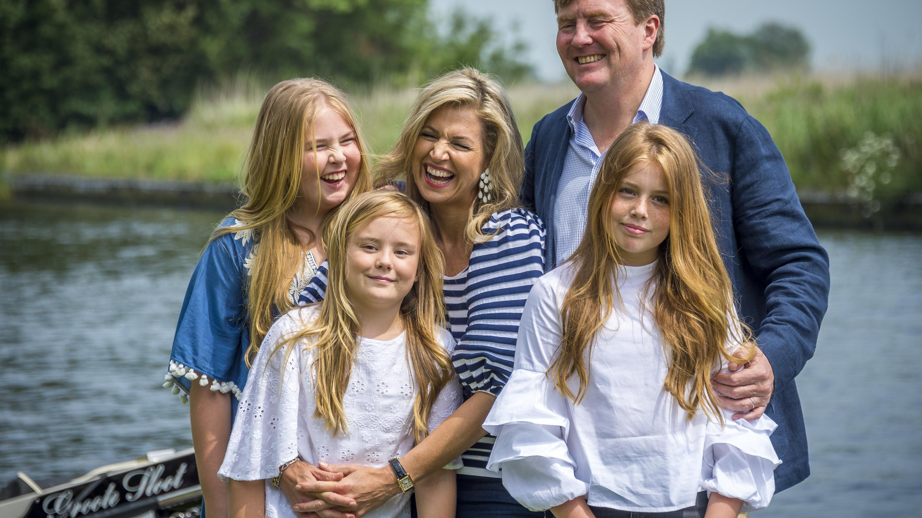 Niederländische Royals Mit Ihrem Etwas Anderen Weihnachtsgruß
