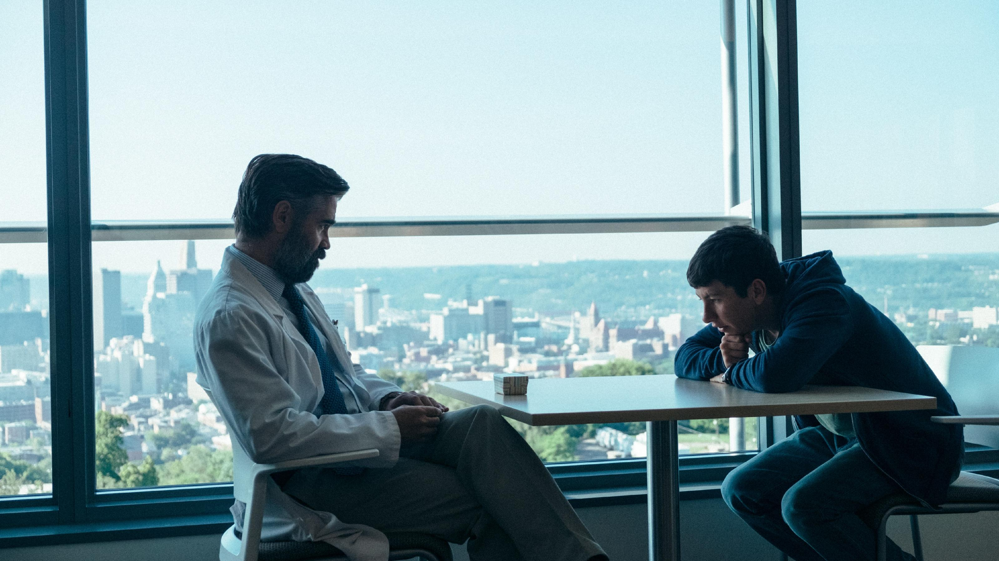 Colin Farrell und Barry Keoghan in 'The Killing Of A Sacred Deer'