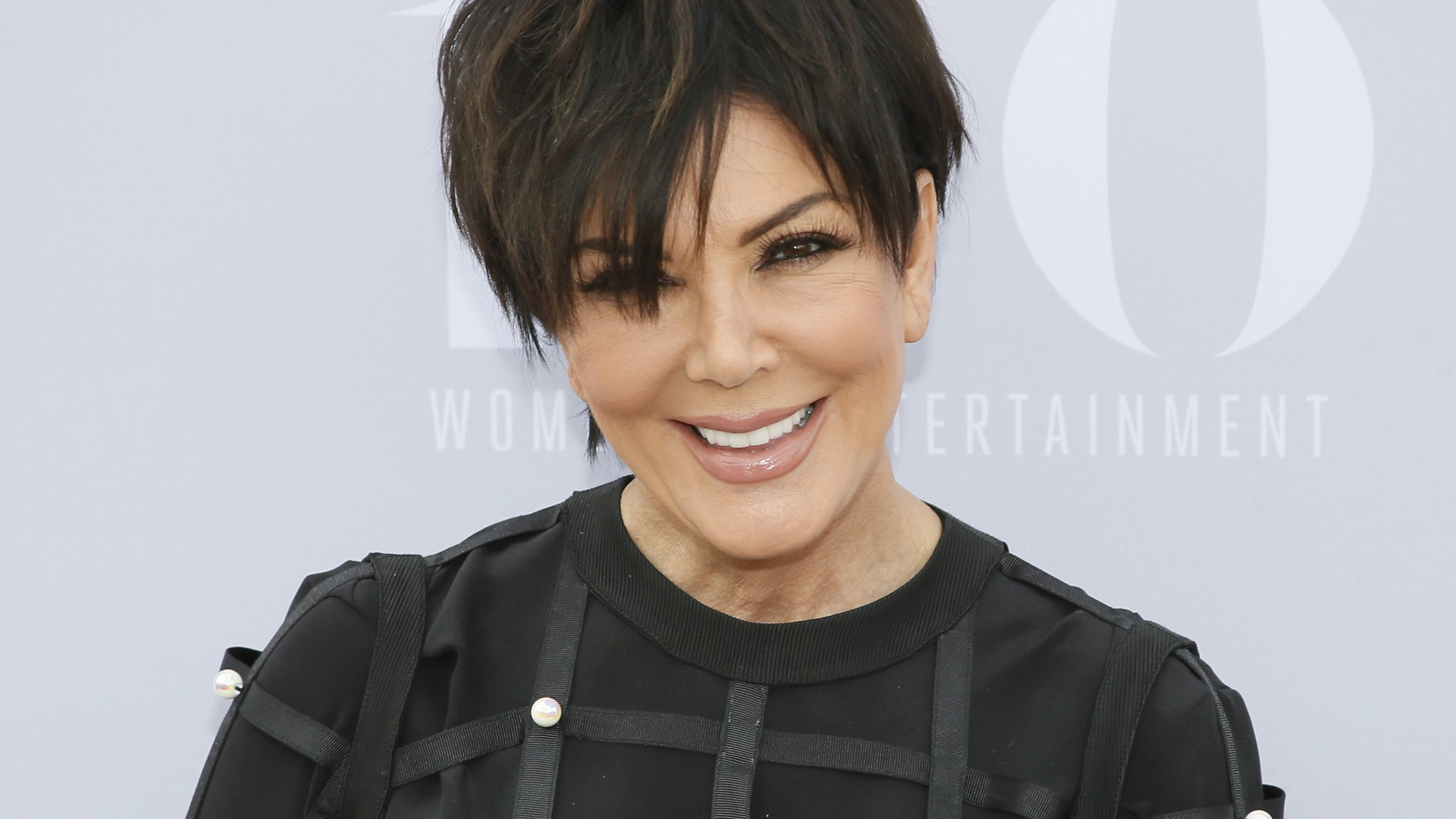 Television personality Kris Jenner poses at The Hollywood Reporter's Annual Women in Entertainment Breakfast in Los Angeles, California December 9, 2015. REUTERS/Danny Moloshok