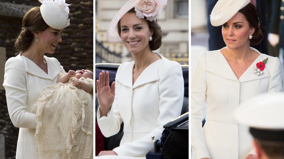Herzogin Kate: So viel hat sie im Jahr 2017 für Klamotten ausgegeben