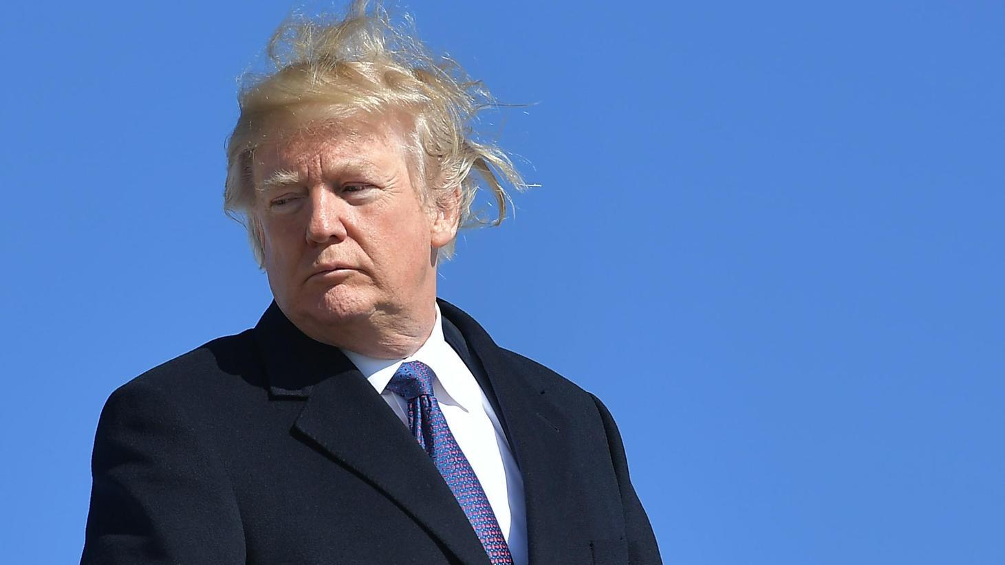 Donald Trump Die Wahrheit Uber Seine Haarpracht Ist Enthullt