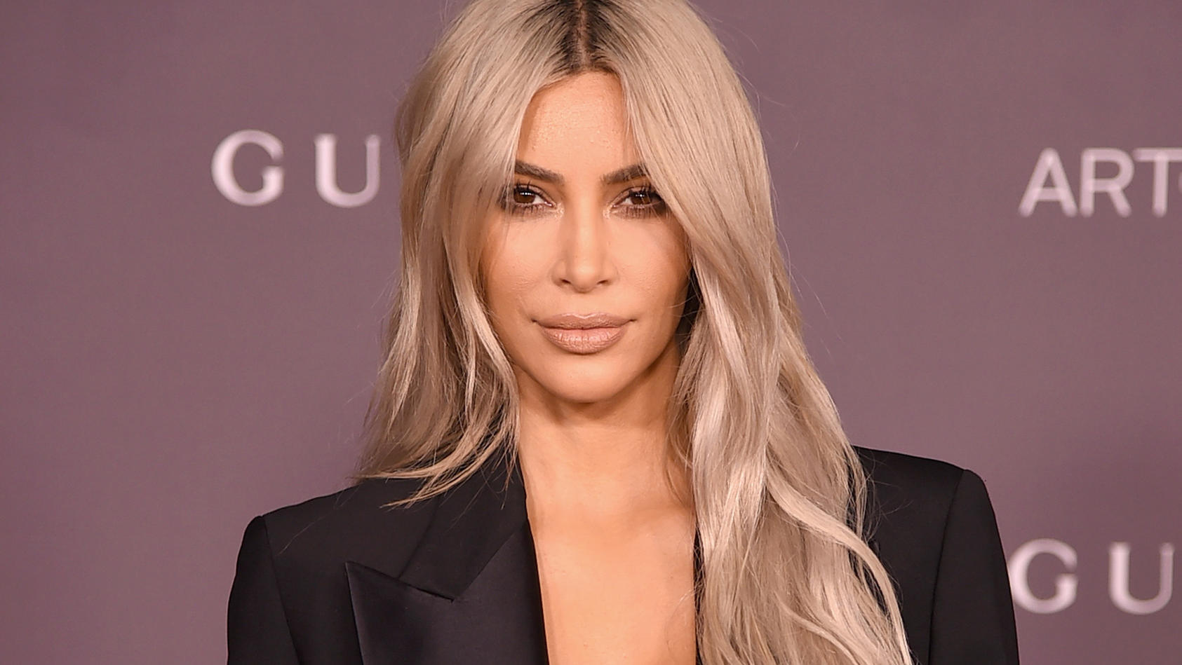 Kim Kardashian bei der 'LACMA Art + Film Gala' im November 2017 in Los Angeles