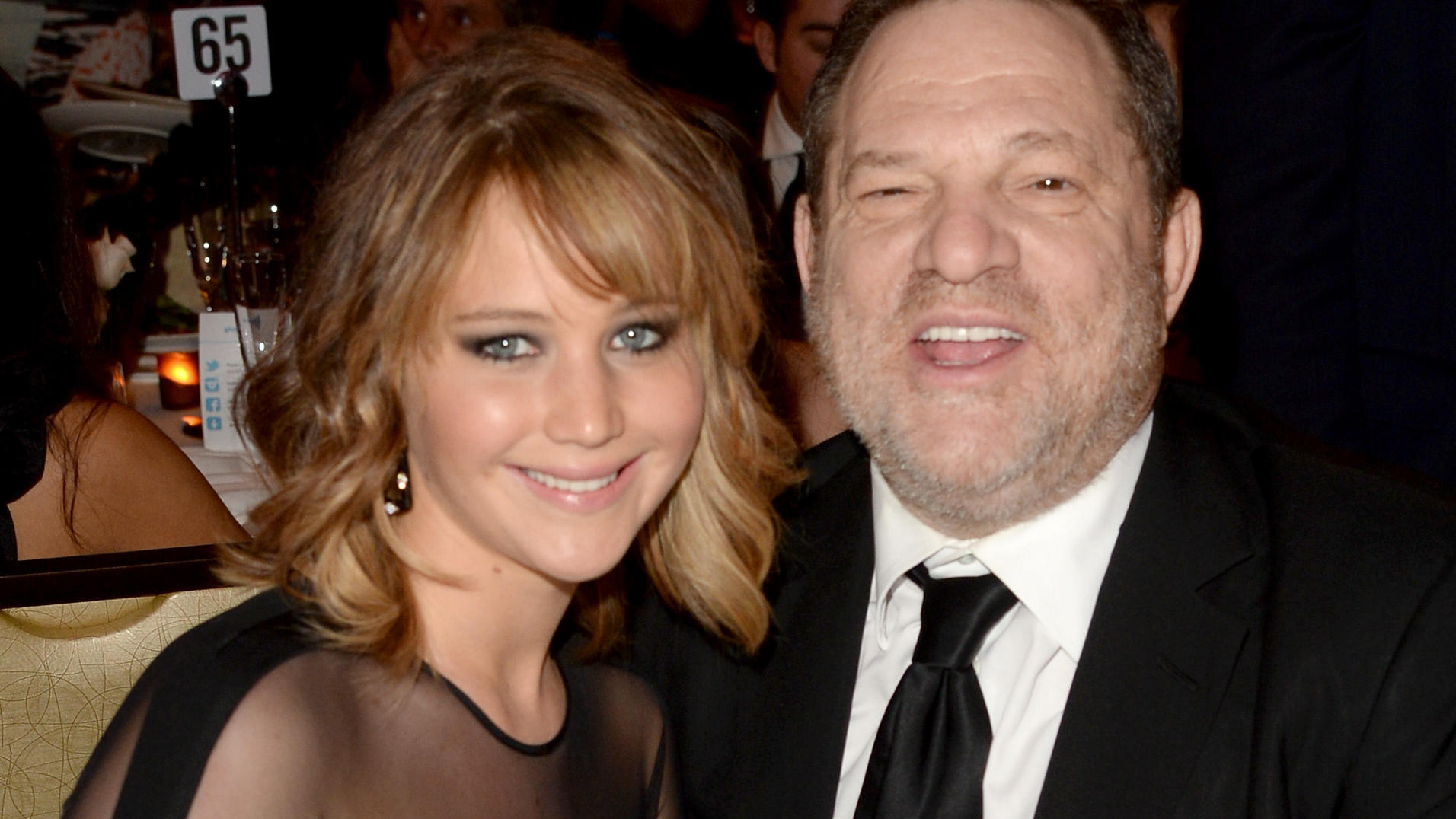 Jennifer Lawrence und Harvey Weinstein