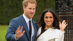 Meghan Markles Outfit soll 400.000 Euro kosten.