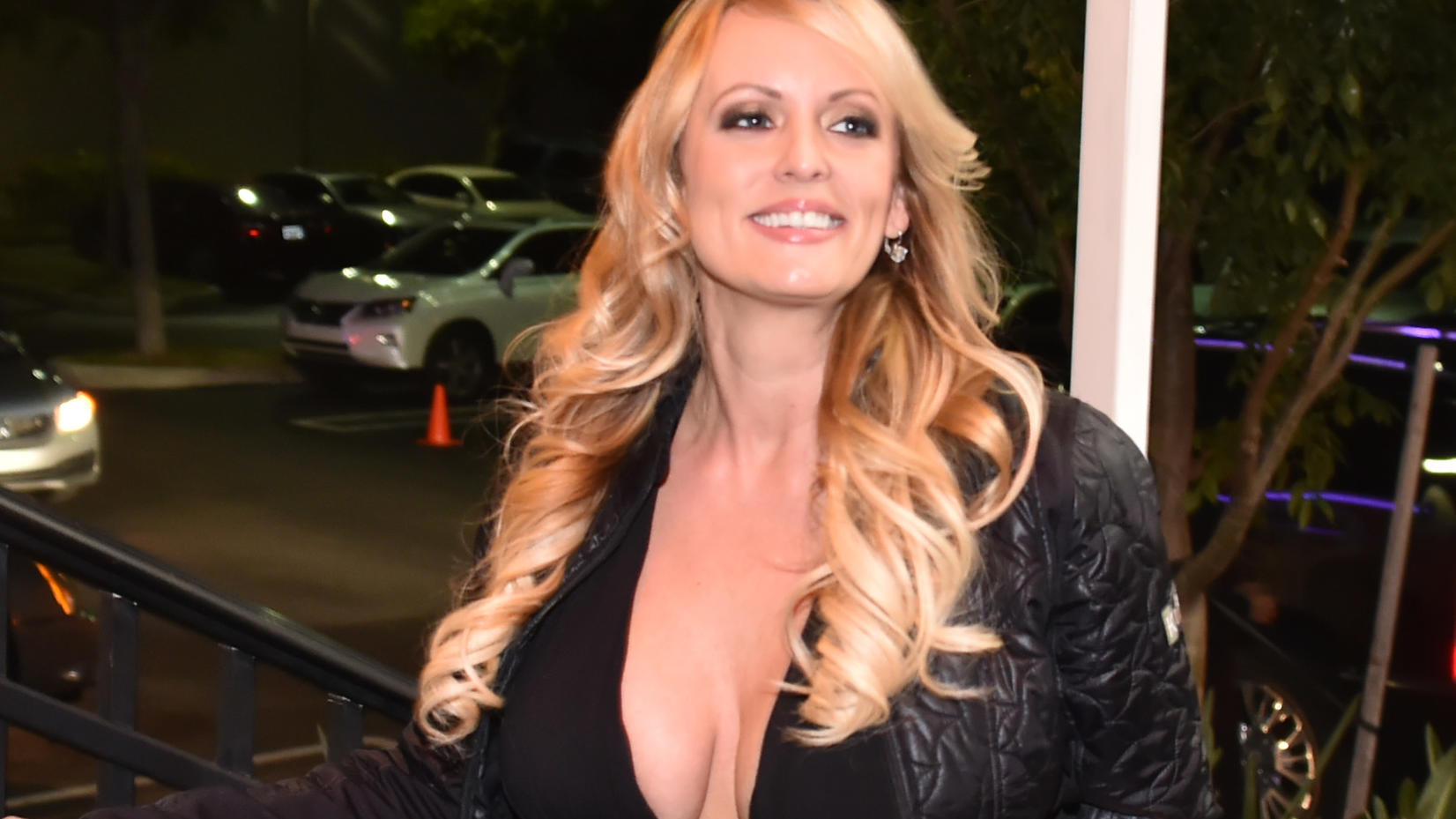 Stormy Daniel arrives at the Solid Gold, Pompano Beach, Florida.Porn star Stormy Daniels' lawsuit against Donald Trump.