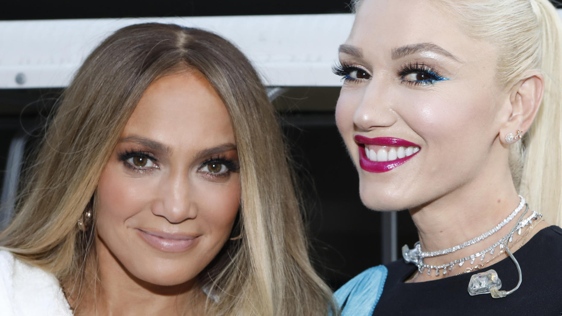 Jennifer Lopez, Lady Gaga, Heidi Klum und Gwen Stefani - falsche Wimpern in Hollywood
