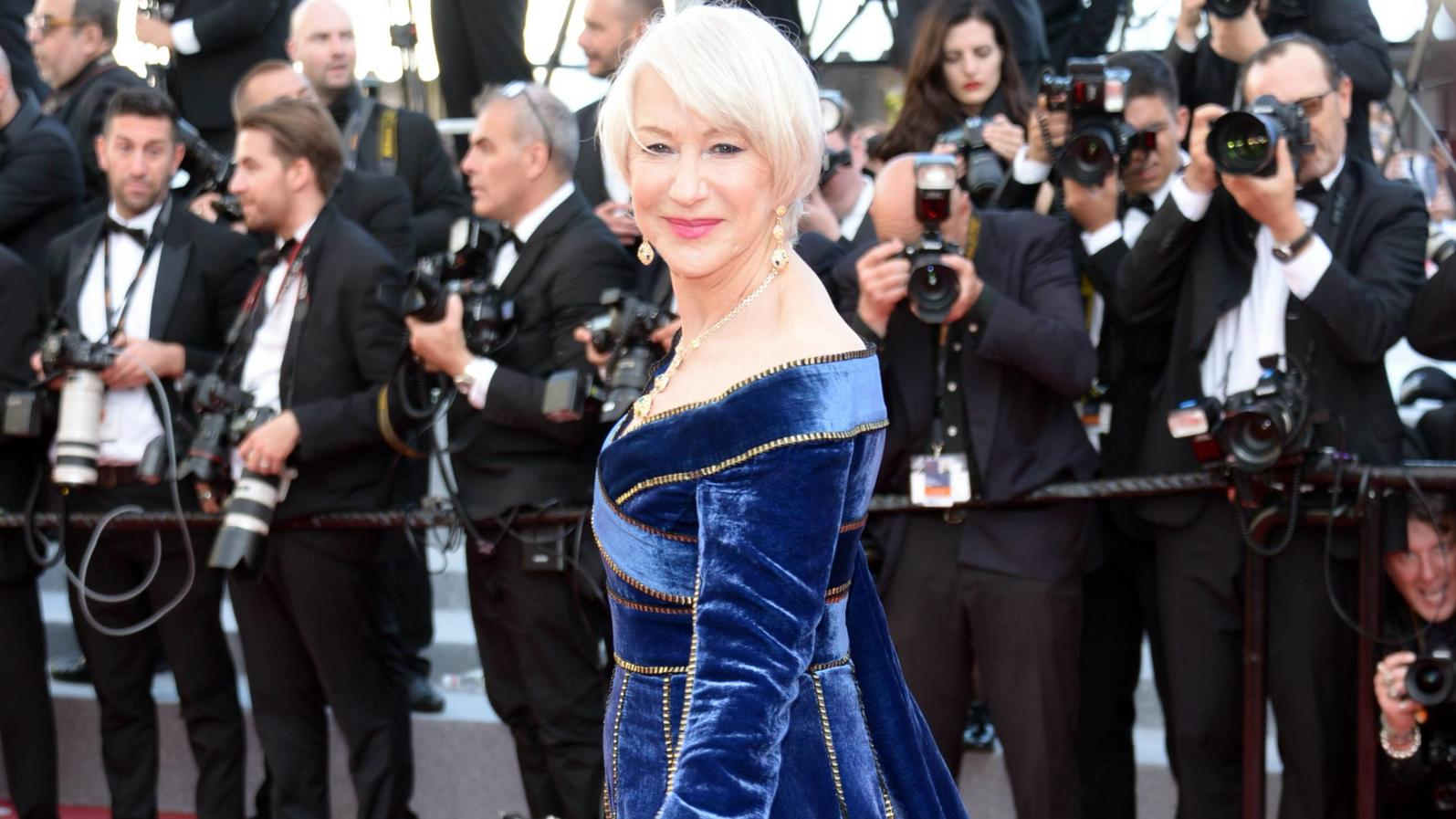 May 12, 2018 - Cannes, France - CANNES, FRANCE - MAY 12: Helen Mirren attends the screening of Girls Of The Sun (Les Filles Du Soleil) during the 71st annual Cannes Film Festival at Palais des Festivals on May 12, 2018 in Cannes, France. Cannes Franc
