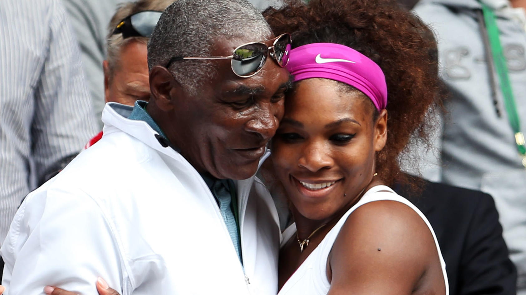 Richard und Serena Williams