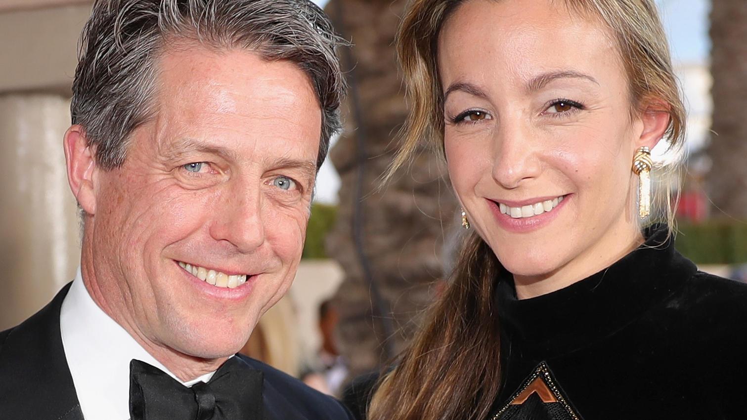 Hochzeit In London Hugh Grant Und Anna Eberstein Haben Sich Das Ja