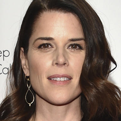 Neve Campbell and husband